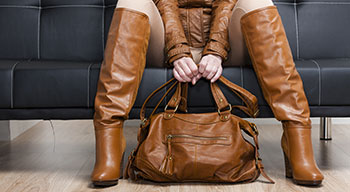 Cleaning and conditioning leather jacket, boots and handbag