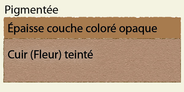 Le cuir d 39 ameublement le cuir d 39 ameublement partie 1 descriptions e - Fleur corrigee pigmentee ...