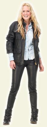 Restaurer blouson manteau, pantalon et bottes en cuir
