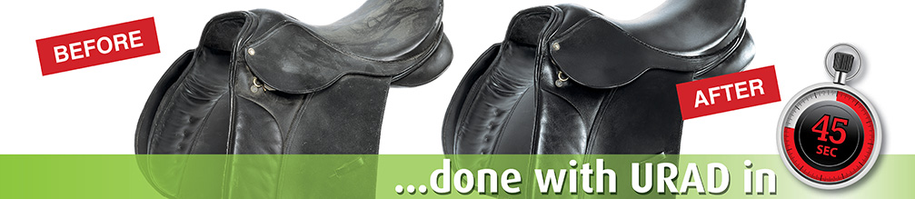URAD all-in-one leather care for saddles and more!