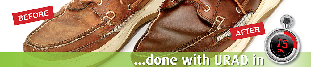 URAD all-in-one leather care for shoes ...