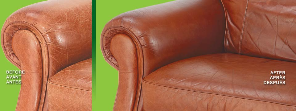 Urad's line of leather care products for furniture